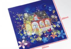マイクロファイバークロスマイクロファイバークロス【デジタルプリント】20cm×20cm